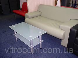 Журнальний скляний столик Экси