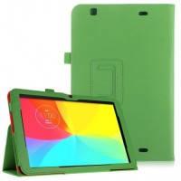 Кожаный чехол-книжка TTX с функцией подставки для LG G Pad 10.1 (V700) Зеленый