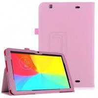 Кожаный чехол-книжка TTX с функцией подставки для LG G Pad 10.1 (V700) Розовый
