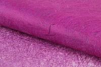 """(Ціна за 20шт) Флізелінова папір """"Amsonia"""" для декору, рожева, довжина 70см, ширина 50см, Папір для пакування подарунків, Папір для рукоділля"""