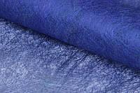 """(Ціна за 20шт) Флізелінова папір """"Epigaea"""" для декору, синя, довжина 70см, ширина 50см, Папір для пакування подарунків, Папір для рукоділля"""