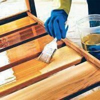Отделка изделий из древесины