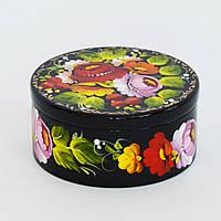 Украинский сувенир. Шкатулка для украшений. Пионы