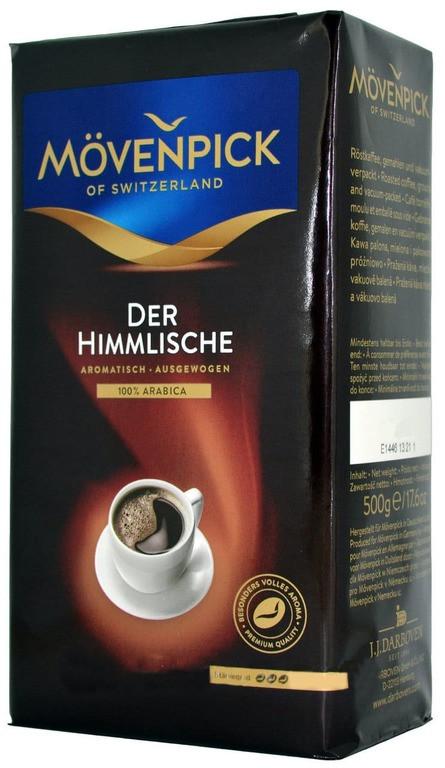 Кофе молотый Movenpick Der Himmlische 500 г. Германия