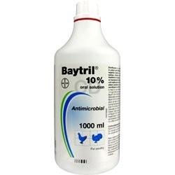Байтрил 10%, антимикробный препарат, 1л