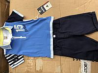 Детские летние комплекты для мальчиков BEBUS,разм 2-5лет,Турция, фото 1