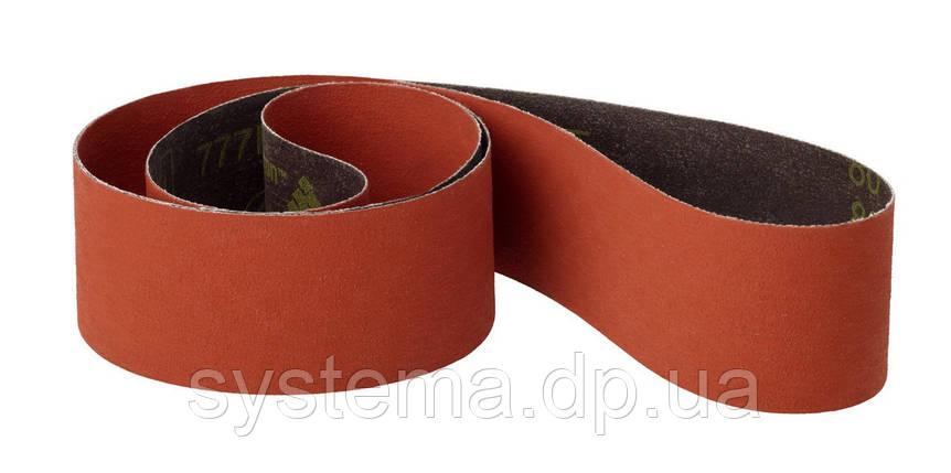 Бесконечная лента, 50x2000 мм, для гриндера, ленточных шлифмашин -  AWUKO KT62X, Р80, фото 2