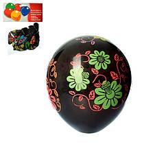Набор надувных шариков (10 шт.), с рисунком, 13 см, MET10009