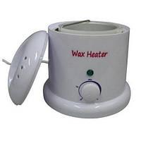 Воскоплав для нагрівання воску WN408-2 1000c, білий, об'єм 1000 грам воску, регулятор, воскоплав для салону або косметичного кабінету, банковий віск