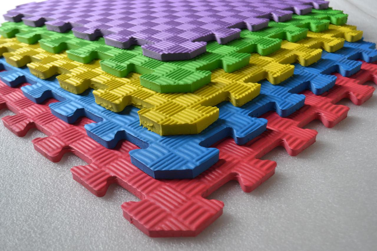 Мягкий пол (Коврик-пазл 50*50*1см) Мозаика.