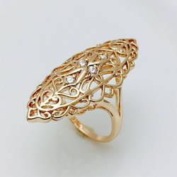 Перстень женский, размер 18, 19, 20