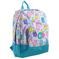 Рюкзак підлітковий для дівчинки YES ST-40 Ice Cream 556657, 40 * 27 * 13 см.