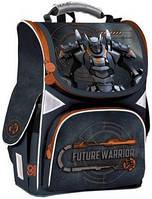 Рюкзак шкільний каркасний для хлопчика GoPack 5001-9 GO19-5001S-9, 34 * 26 * 13 см