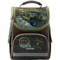 Рюкзак школьный каркасний для мальчиков KITE 501-5 Off-road