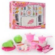 Посуда продукты, мебель в кор. 35х25х6см. 6811 В (60)