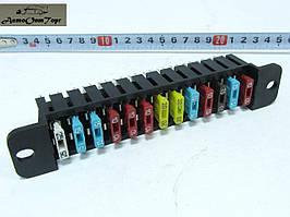 Блок предохранителей ВАЗ 2101, 2102, 2103, 2104, 2105, 2106, 2107, Евро 13 предохранителей