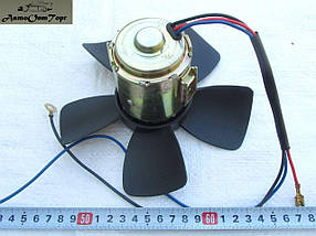 Вентилятор отопителя ( мотор печки) в сборе (с крыльчаткой на подшипнике) ВАЗ 2101, 2102, 2103, 2104, 2105, 21, фото 2