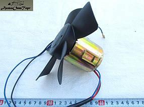 Вентилятор отопителя ( мотор печки) в сборе (с крыльчаткой на подшипнике) ВАЗ 2101, 2102, 2103, 2104, 2105, 21, фото 3