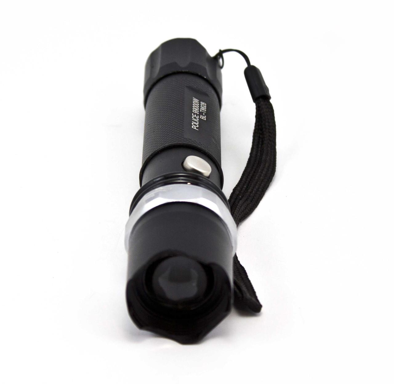 Тактический фонарь Police BL8628 Черный