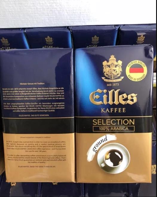 Кофе молотый Eilles Selection J.J.Darboven 500 г. Германия 2