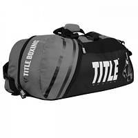 17e46d3bfa8a Оригинальная Cумка-Рюкзак TITLE World Champion Sport Bag/Back Pack 2.0 -  Black/