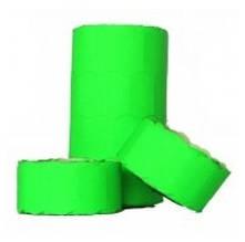 Ценник Укр. малый (26х12мм) зеленый 5м. (бабина - 6шт.) (6/576)