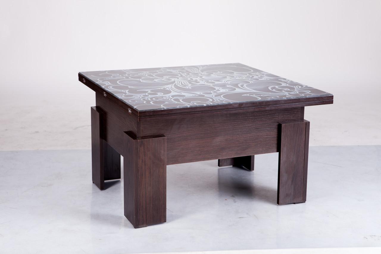 Стол-трансформер Микс Мебель Дельта(стекло)