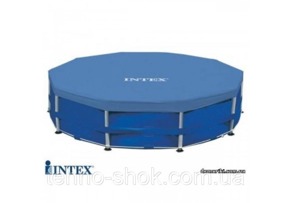 Тент для бассейна Intex 28031 (58411) крышка