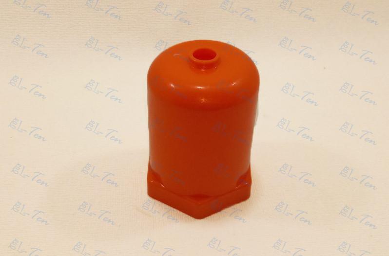 """Колпак пластиковый защитный (оранже) для резьбовых тэнов с гайкой 1 1/4"""" дюйма"""
