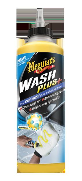Автомобильный шампунь плюс - Meguiar's Wash Plus + 709 мл. (G25024EU)