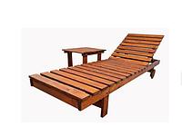 Шезлонг деревянный   Sadolin