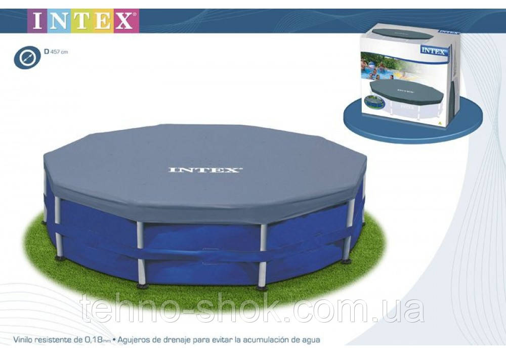 Тент для бассейна Intex 305см 28030 (58406)