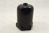 """Колпак универсальный пластиковый защитный (черный) для резьбовых тэнов с гайкой 1"""" и 1 1/4"""" дюйма"""