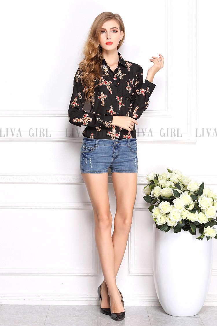 Блузки И Рубашки Купить