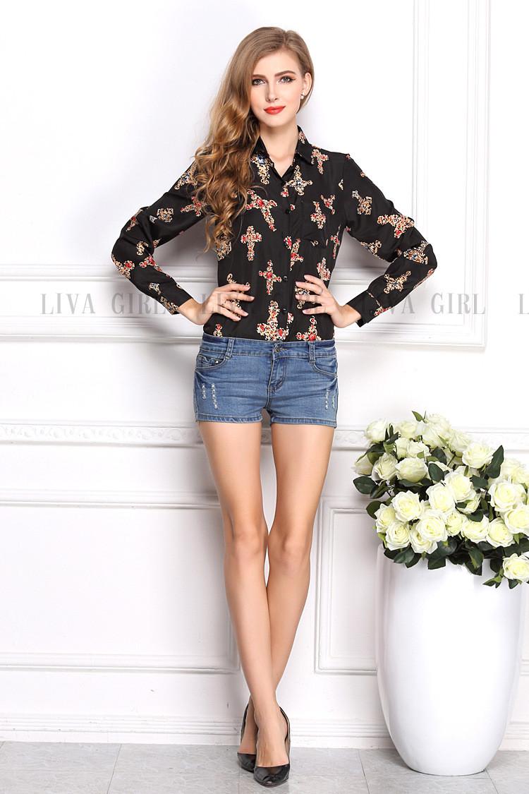 Рубашки И Блузки Женские Купить