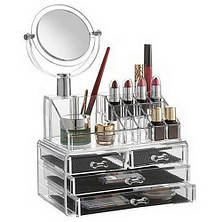 Органайзер для косметики с зеркалом 4 drawer!Хит цена, фото 3