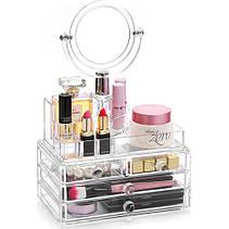 Органайзер для косметики с зеркалом 4 drawer!Хит цена, фото 2