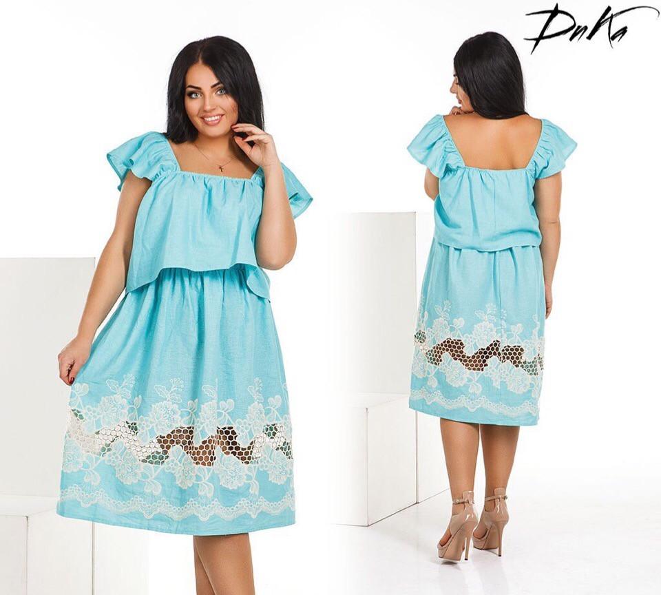 Женское стильное платье  ДГд4123 (бат)