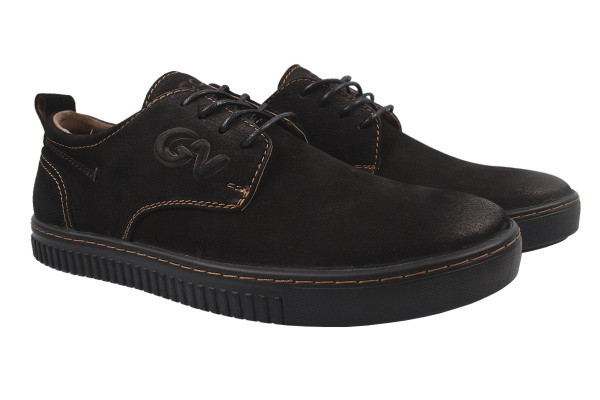 Туфли комфорт Falcon нубук, цвет черный