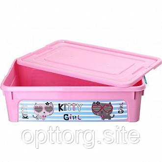 Ящик для игрушек Smart Box Pet Shop 14л