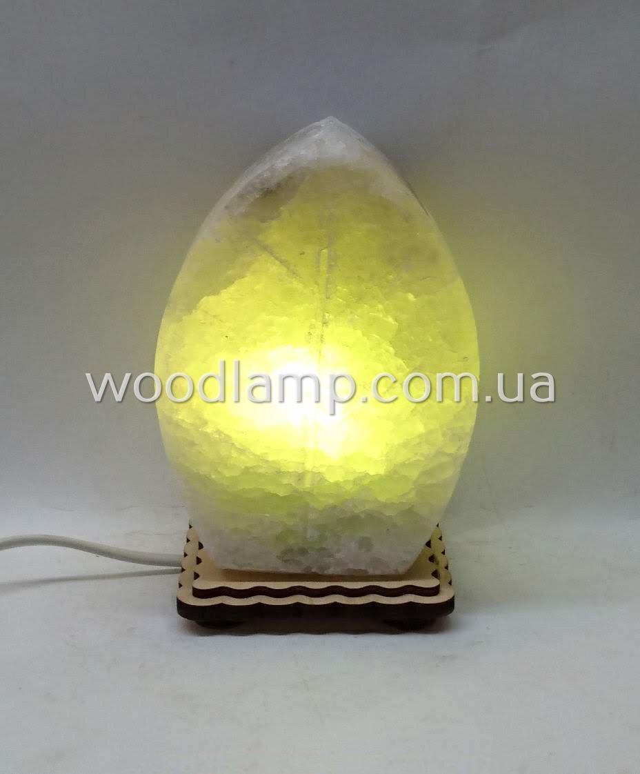 Соляная лампа Листик маленький