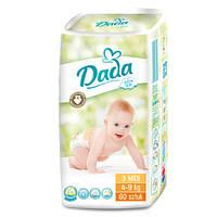 Подгузники обновленные Dada 3 extra soft (4-9 кг) 60 шт.