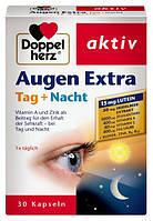 Doppelherz aktiv Augen Extra Tag + Nacht - Витамины и микроэлементы для глаз, 30 капсул