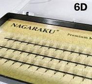 Пучковые ресницы nagaraku 6D