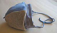 Шапочка из велюра утепленная синтепоном для детей, фото 1