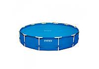 Тент антиохлаждение Intex 29023 (59954), для круглого бассейна 457 см
