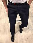 Мужские стильные брюки (черные) - Турция, фото 2