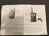 """Набор сигнализаторов для рыбалки c пейджером """"SHARK""""  TLI-23(4+1) (влагостойкие)""""СУПЕР КАЧЕСТВО"""" , фото 5"""