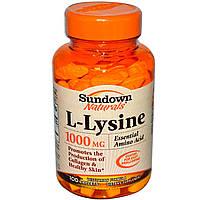 L-лизин Rexall Sundown Naturals 1000мг 100 капсул