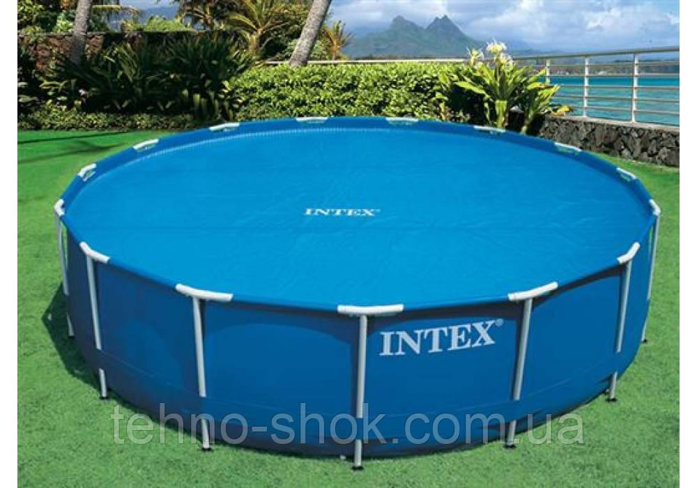 """Intex 29022, обогревающий тент-покрывало """"SOLAR COVER"""" для бассейна, 366см"""